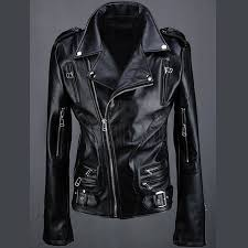 byther mens sleeve zippers biker black rider leather jacket jpg