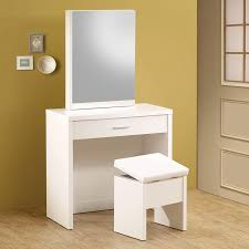shop coaster fine furniture white makeup vanity at lowescom