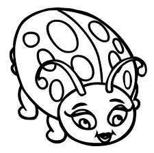 Small Picture Ladybugs Big Eye Coloring Pages coloring pics Pinterest