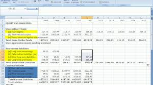 How To Forecast Balance Sheet Forecast Balance Sheet Youtube