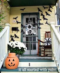 Bats on the Door Decor