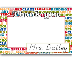 free thank you notes templates 10 thank you notes for teachers free sample example format