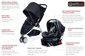 britax b safe 35 car seat the b safe elite and b agile stroller let you
