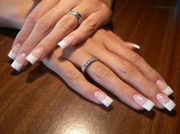Images of french nail art - how you can do it at home. Pictures ...