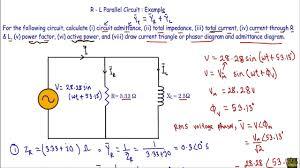 rl parallel circuit ac example