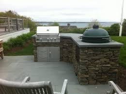 outdoor kitchen plans big green egg