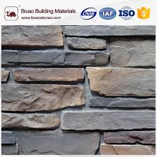 faux fake imitation culture stone wall cladding for exterior wall panel decoration