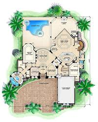 lovable enchanting bedroom house plans pool plans with swimming pool plan home design officialkod inside pools
