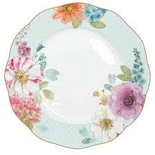 Floral Plate Design
