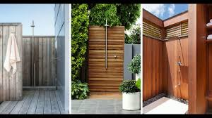 S TOP 10 BEST Outdoor Shower Design Ideas  DIY Cheap Building Kits  Plans Enclosure 2018