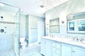 white bathroom designs excellent awesome chandelier lighting fixtures blue and grey ideas with regard to carrara