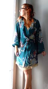 Kimono Robe Pattern Cool Emerald Kimono Robe Sewing Projects BurdaStyle