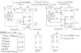 wiring help needed baldor 5 hp to cutler hammer drum switch rh practicalmachinist single phase capacitor motor wiring diagrams single phase capacitor