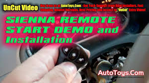 toyota sienna remote start installation bypass module toyota sienna remote start installation bypass module idatalink by autotoys com how to demo