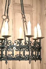 amazing spanish wrought iron chandeliers