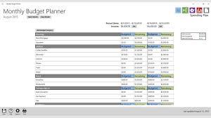 Comprar Monthly Budget Planner Microsoft Store Es Us