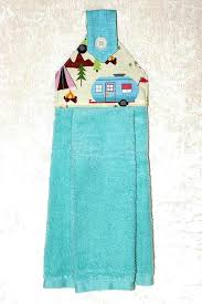 hand towel holder for wall. Hanging Dish Towel O Turquoise Hand Camping Tea Vintage Trailer Retro Holder For Wall D