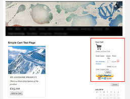 wordpress shopping carts adding a shopping cart on the sidebar of your wordpress site