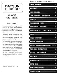 datsun 720 wiring diagram datsun image wiring diagram 1980 datsun pickup truck repair shop manual original on datsun 720 wiring diagram