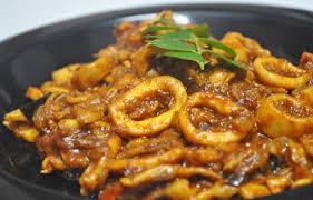 Squid Curry Masala Recipe