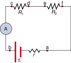 why is an ammeter always connected in series and a voltmeter they must not be connected to a voltage source ammeters are designed to work under a minimal burden which refers to the voltage drop across the ammeter