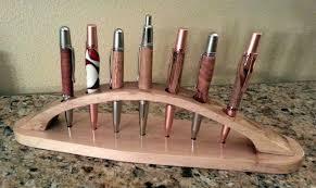 Pen Display Stands Awesome Pen Display Fixture Hold 32 Pens By FloridaArt LumberJocks