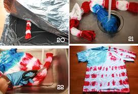 tie dye american flag tee shirt diy onelittleminuteblog com