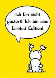 Limited Edition Comic Cartoons Echte Postkarten Online Versenden