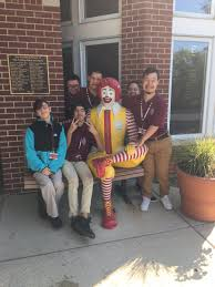 """Julie Calcagno on Twitter: """"First visit to Ronald McDonald House!  #mortonpride… """""""