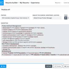 Online Resume Builder Free Template Resume Builder Online Your Resume Ready In 100 Minutes inside 37