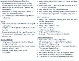 qa qc resume sample gallery creawizard com