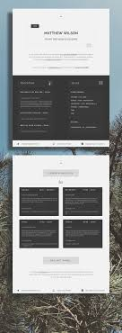 1716 Best Cv Templates Resume Templates Images On Pinterest Cv