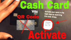 Qr code on cash app card. How To Activate Cash App Cash Card With Qr Code Youtube