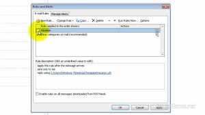 Automatic Respond Set Auto Reply Message In Outlook 2010 Youtube