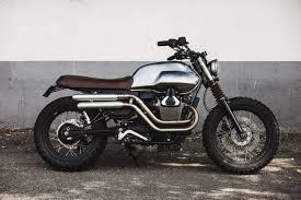 motoguzzi v7 scrambler from baak motorcycles