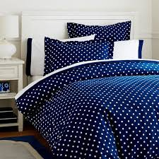 dottie duvet cover sham royal navy