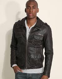 superdry superdry brad leather jacket at asos