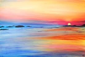 watercolor paintings of sunsets beach sunset painting foooooooodddd watercolor
