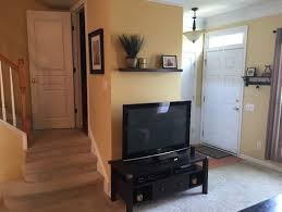 Town house Living room furniture arrangement