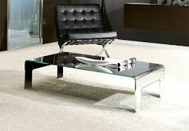 elegant pictures of mirrored glass coffee table