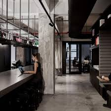 studio office design. Woods Bagot\u0027s Self-designed New York Studio Features Black Fixtures And Exposed Concrete Office Design
