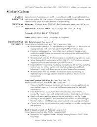 Linux Admin Resume Mazard Info