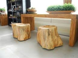 Rustic yet Modern Beautiful Furniture with Wood Leftovers from