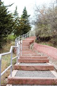 Outdoor Steps Spring Time Outdoor Steps Stock Photo Picture And Royalty Free
