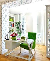 colorful home office. colorful modern home decor luscious green color office ideas via my life