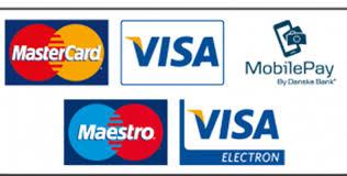 Billedresultat for Mastercard Maestro VISA VISA Electron MobilePay