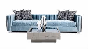 trend furniture. Acapulco Sofa In Trend Denim Velvet Furniture