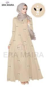 Wide Bottom Cut Jubah Diana Women Dress Glaze Design - Diana Glaze | Lazada
