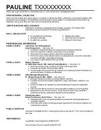 Beautiful Central Sterile Processing Technician Resume Gallery