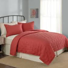 Buy Coral Twin Bedding from Bed Bath & Beyond & Opal Twin Quilt in Coral Adamdwight.com